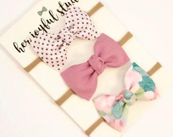 Baby Headband, Bow Headband Set, Baby Bow Headband, Baby-Girl Bow Headband, Baby Headband Set, Baby Accessories, Headbands Baby Girl