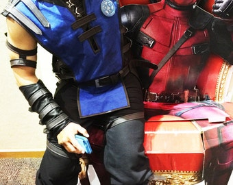 Sub Zero costume/ Sub Zero mask/ Sub Zero cosplay/ Sub Zero boots