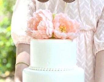Wedding Mr and Mrs love birds cake topper- wedding cake topper-