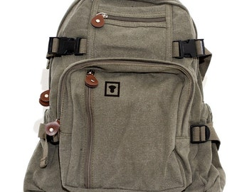 Backpack Medium Control, Canvas Backpack, Rucksack, Travel Backpack, Small Backpack, Weekender Bag, Men's Backpack, Women's Backpack