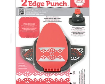 2 Edge Doily Punch - We R Memory Keepers Two Edge Punch Doily - Edge Tool - WR 2 Edge Paper Punch - Double Edge Punch - Punch Tool - 2-081