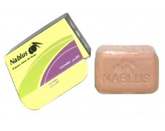 Nablus Organic Soap with Lavender