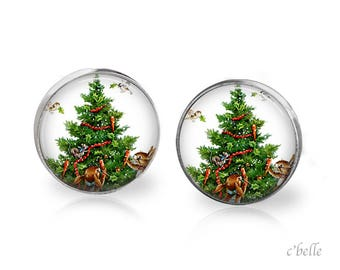 Christmas Earrings Winter-79