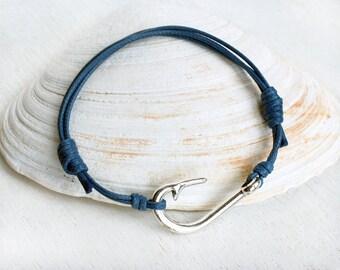 Fishing Hook Bracelet, Fishing Bracelet, Sport Bracelet (Many colors to choose)