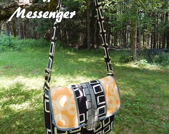 Calypso Messenger Bag: DIGITAL Sewing Pattern (2 sizes)