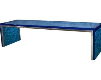 Big Blue Running Waters Bench