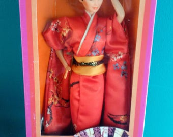 Mattel 1980's Japanese Barbie Dolls of the World Barbie Doll