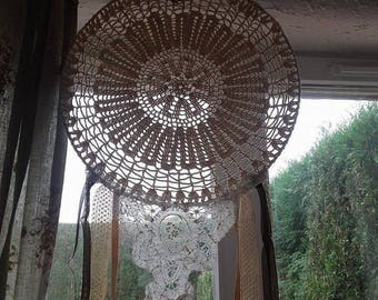 dream catcher crochet and lace