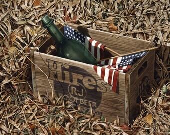 Hires Root Beer Box