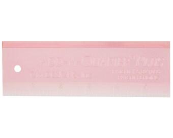 Cm Designs Cmd10006 Ruler Add-A-Quarter Plus Pink Pack, 6In