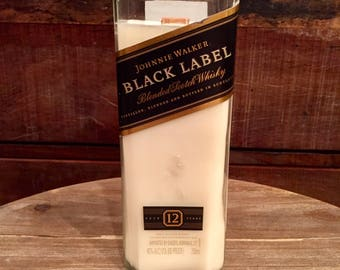 Johnny Walker Black Label Scotch Whisky Candle (750ml)