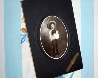 Photo of a little Boy,  Turn Of The Century