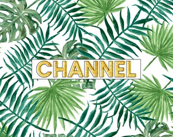 Palm   Youtube Channel Art