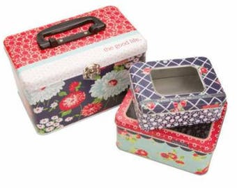 INSTOCK The Good Life Tins Set of 3 by Bonnie and Camille - Moda