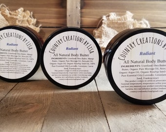 Radiant All Natural Body Butter
