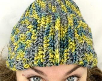 Hat Crochet Pattern, Skull Cap, Beanie Hat, Winter Hat Pattern, Ski Hat Crochet Pattern, Watch Cap Crochet Pattern - Jackalackackie Hat