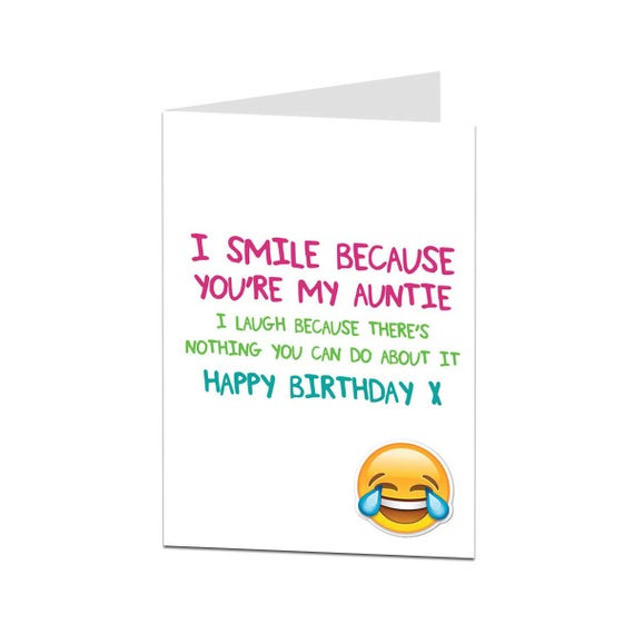 Auntie card birthday card auntie happy birthday auntie like this item bookmarktalkfo Choice Image