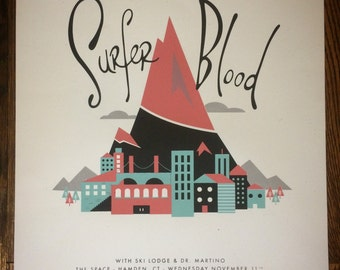 Surfer Blood - gig poster