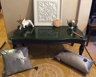Boho Inspired Color Pallet - Coffee Table