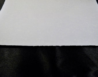 One Hand Made Paper Water Color Paper for Painting made from Cotton Fibers PM--#Sample1
