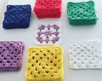Beautiful Cotton Granny Squares