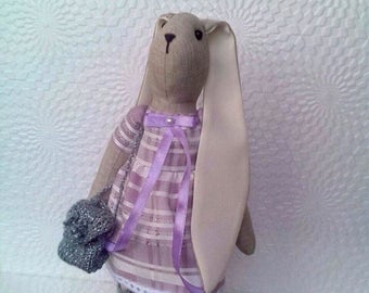 Handmade Tilda bunny  Tilda rabbit Tilda doll Handmade toy Home decor Gift for her