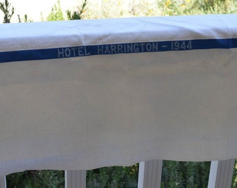 Washington D.C. Dish Towel from Historic Hotel Harrington 1944, Vintage