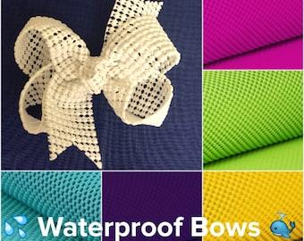 """Hair Bows, The Elsie Waterproof Hair Bow - 4"""" Boutique Bow - Summer Hair Bows - Toddler Baby Hair Bows - Beach hair clip beach hair bows"""
