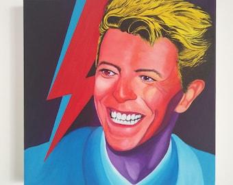 David Bowie 1983 - Lets Dance - Original/Hand-painted