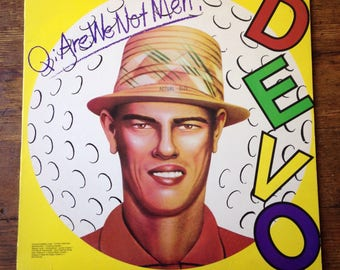 1978 Are We Not Men? We Are Devo! debut Record Album BSK 3239. Devo. E Sleeve, NM Media. Warner Bros. Records