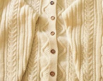 Irish wool blarney sweater