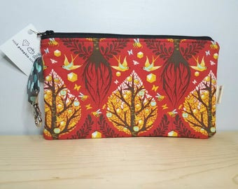 Tree of Life Flat Zippered Pouch