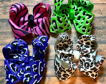 7 4 loop boutique hair bows