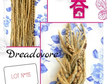 14 large Dreads synthetic roots. !! Color and choice of length. Dreadovore. Dreadlocks