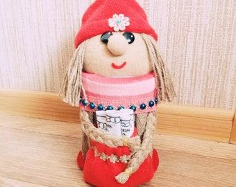 Gnome christmas, Gnome Gift - Gnome Decor- brings good luck