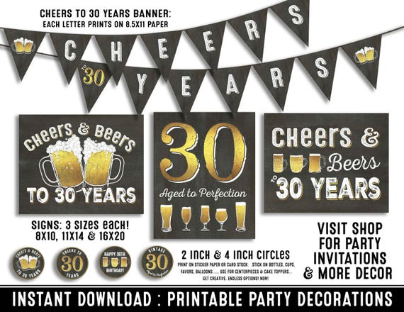 30th birthday party decorations 30th birthday party for him