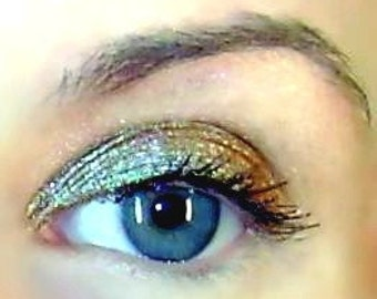 Mineral Makeup Eye Shadow  Eyeliner Eyeshadow Large Pandysmonium Green Brown