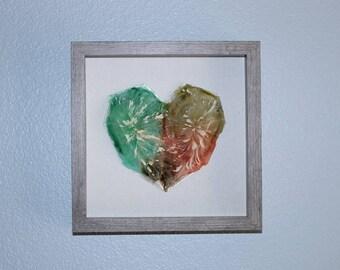 EARTHY GEO HEART
