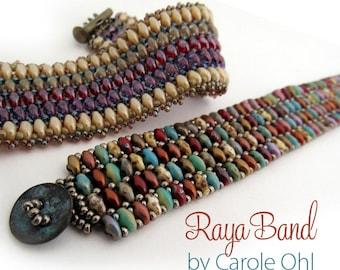 Raya Band Beadweaving Tutorial by Carole Ohl