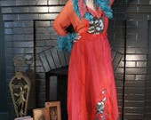 40% 0ff 4th of July Sale Feather Moulin Rouge Zsa Zsa DRESS Boudoir Queen fall 2018