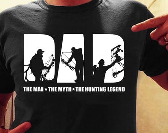 The man the myth the bow hunting legend shirt, bow shirt, bow hunting shirt, bow hunting shirt for man, dad shirt, father hunting bow shirt