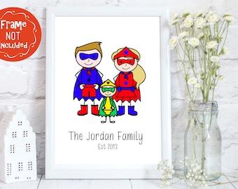 Comic book art, Superhero Wall Art, superhero prints, Geeky home decor, Comic Book Wedding gift, Superhero prints, comic art