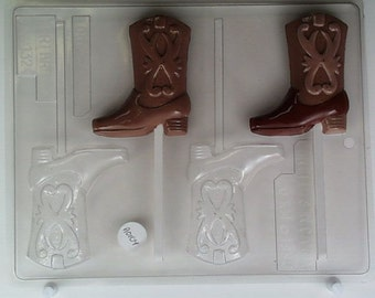 Cowboy boot with designs AO104