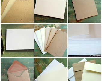 Sample pack, GreenEarthSupplies - sample pack, paper pack, eco-friendly paper, recycled paper