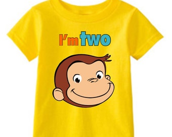 Curious George Birthday t-shirt
