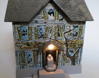 Haunted House Mystery Bank With Box