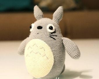 Totoro Anime Amigurumi Doll Crochet Doll
