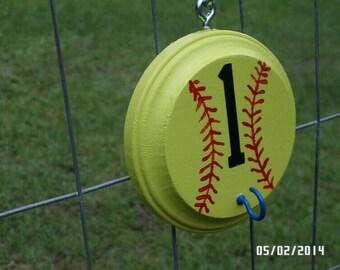 Personalized Softball/Baseball Helmet Holder
