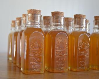 Lot of 30, 4oz. Muth Honey Jar, Wedding Favors, Mini Honey Jar, Vintage Wedding Souvenirs, Honey Favours