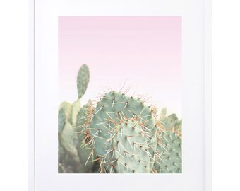 Cactus, Digital Download, Cactus Photography, Pink, Printable Art, Cacti Art, Desert Art, Desert Scene, Pink Desert, Wall Art, Pink Cacti